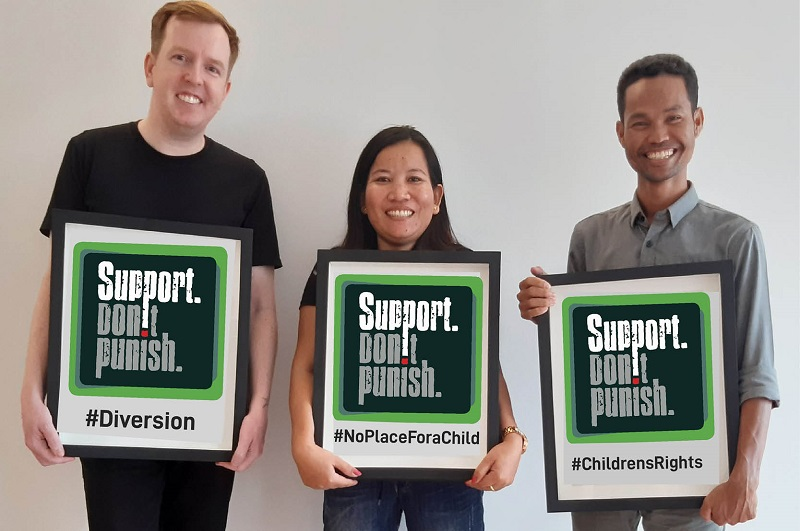 Support. Don't punish in Cambodia.